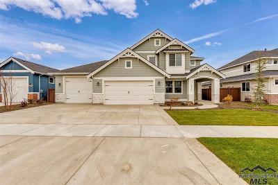 Meridian Single Family Home For Sale: 3439 Gisborne St.
