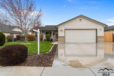 Boise Single Family Home Back on Market: 4768 S Staaten Ave