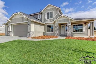 Meridian Single Family Home For Sale: 1408 W Coastal Dr.