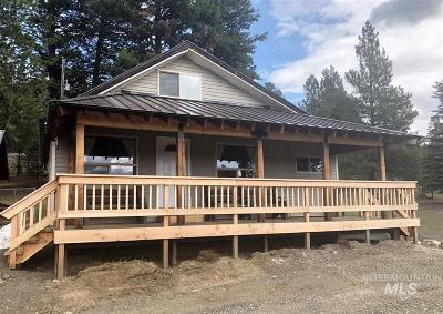 McCall Single Family Home For Sale: 3104 Vista Lane