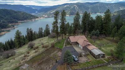 Orofino Single Family Home Contingent Sale: 2971 Lake View Road