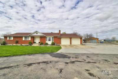 Nampa, Caldwell, Middleton Single Family Home For Sale: 55 S Happy Valley Rd