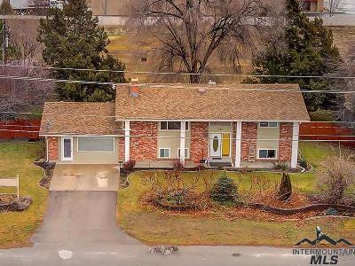 Meridian Single Family Home For Sale: 370 N Linder Rd