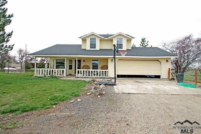 Nampa, Caldwell, Middleton Single Family Home For Sale: 26645 Gail Lane