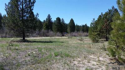 Boise County Residential Lots & Land For Sale: 9 Mountain Meadow