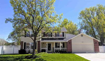 Meridian Single Family Home For Sale: 970 N White Lily Ave