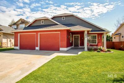 Meridian Single Family Home New: 662 S Torino