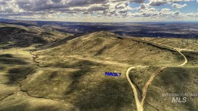 Ada County Residential Lots & Land New: 7 E Table Rock Rd.