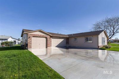 Nampa Single Family Home Price Change: 1100 Burnett Drive