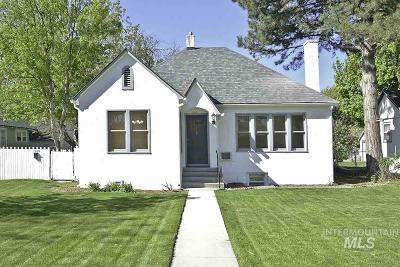 Caldwell Single Family Home Back on Market: 1918 Cleveland Blvd