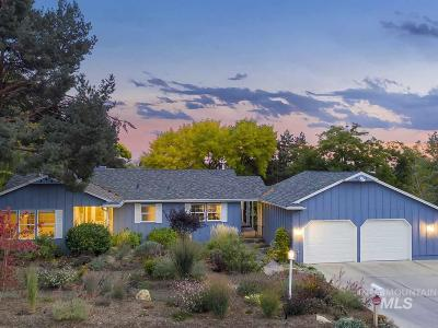 Boise, Nampa, Kuna, Meridian, Eagle, Star Single Family Home For Sale: 629 E Braemere Road