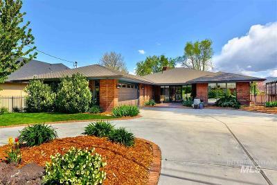 Boise Single Family Home For Sale: 4320 W Edgemont
