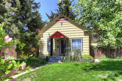 Boise Single Family Home Back on Market: 1914 W Idaho Street