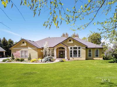 Eagle Single Family Home For Sale: 3295 N Croft