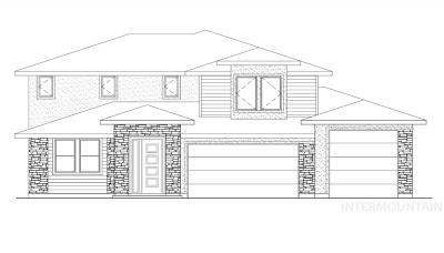Meridian Single Family Home For Sale: 2889 E Lawton Drive
