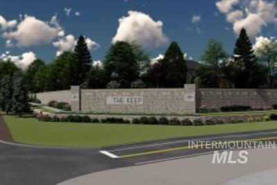 Meridian Residential Lots & Land For Sale: 11 The Keep