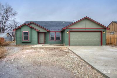 Weiser Single Family Home For Sale: 1077 Butterfield
