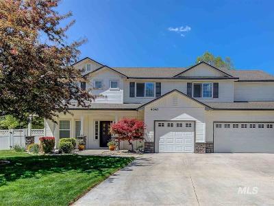 Meridian Single Family Home For Sale: 4087 N Annata Ave
