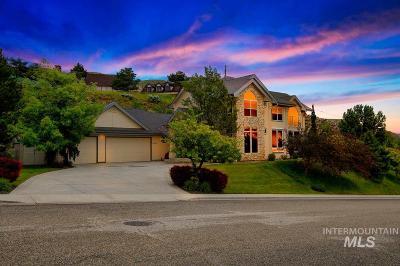 Boise Single Family Home For Sale: 6600 N Hillsboro Pl.