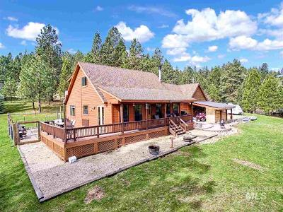 Boise County Single Family Home For Sale: 3 Pine Ridge Road