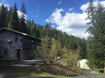 Orofino Single Family Home For Sale: 785 Wells Bench Rd