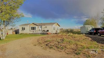 Shoshone Single Family Home For Sale: 385 E Hwy 26