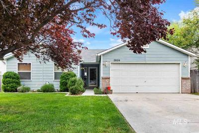 Nampa Single Family Home Back on Market: 2820 Port St.