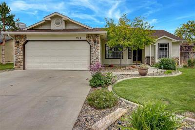 Nampa Single Family Home For Sale: 910 Edwards Avenue