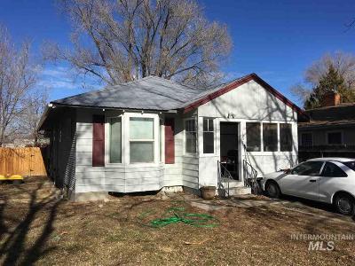 Twin Falls Single Family Home New: 1337 & 1337 1/2 8th Avenue E