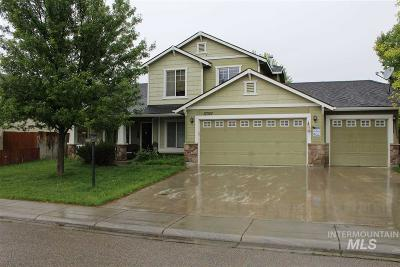 Nampa Single Family Home New: 17357 N Cody