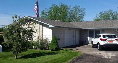 Nampa Single Family Home New: 159 N Benewah Place