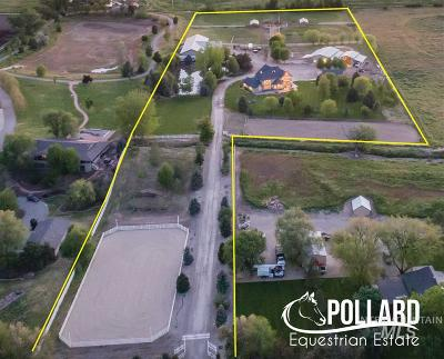Boise, Eagle, Meridian, Middleton, Nampa, Star, Mountain Home Single Family Home For Sale: 3715 N Pollard