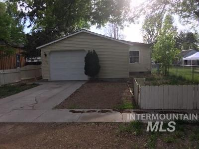 Gooding Single Family Home For Sale: 603 Wyoming