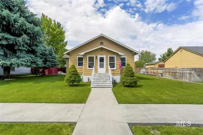 Caldwell Single Family Home For Sale: 510 Fillmore St.
