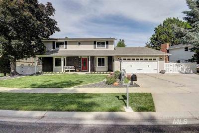Eagle Single Family Home For Sale: 1201 N Pebble Beach Way