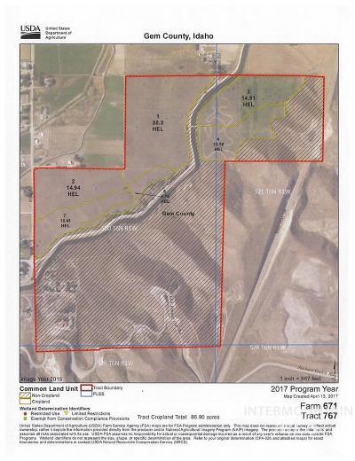 Emmett Residential Lots & Land For Sale: 215 S Subtation