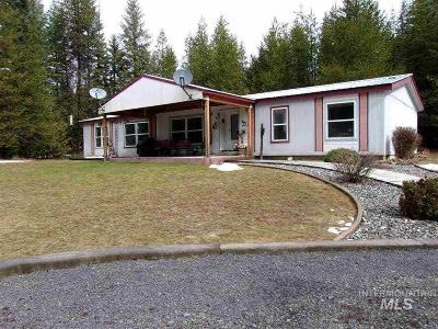 Peck, Pierce, Weippe Single Family Home For Sale: 18565 Upper Fords Creek Rd