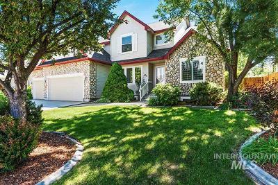 Eagle Single Family Home For Sale: 1730 N Sevenoaks Way