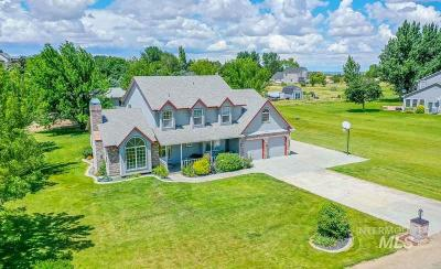 Nampa Single Family Home For Sale: 10055 Duck Lane