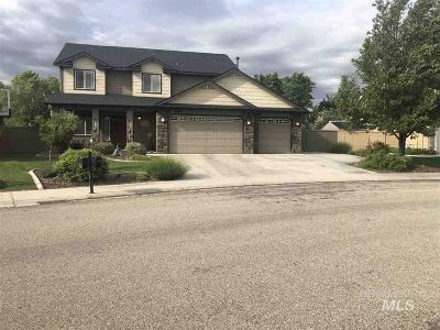 Meridian Single Family Home For Sale: 2286 E Wigle Dr