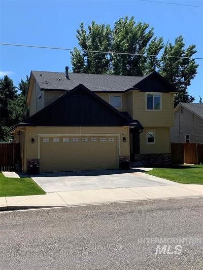 Boise Single Family Home For Sale: 11337 W Goldenrod Ave