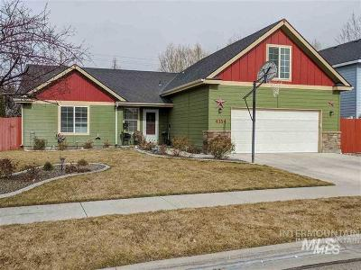 Nampa Single Family Home Back on Market: 4354 E Burgundy