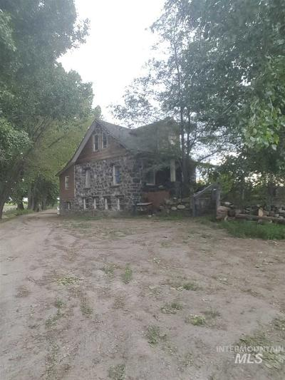 Jerome Single Family Home For Sale: 375 West Road