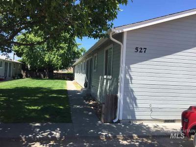 Emmett Multi Family Home For Sale: 527 N Moffatt Ave