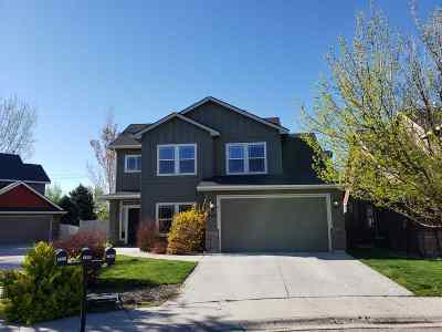 Meridian Single Family Home For Sale: 3192 S Savia