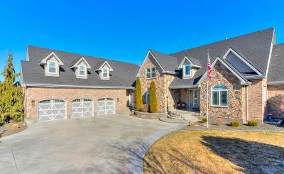 Boise, Eagle, Meridian, Middleton, Nampa, Star, Mountain Home Single Family Home Back on Market: 3728 E Vantage Pointe
