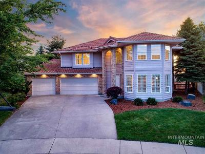 Boise ID Single Family Home For Sale: $759,000