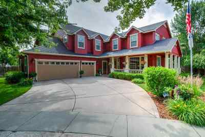 Eagle Single Family Home For Sale: 931 E Knoll Ct.