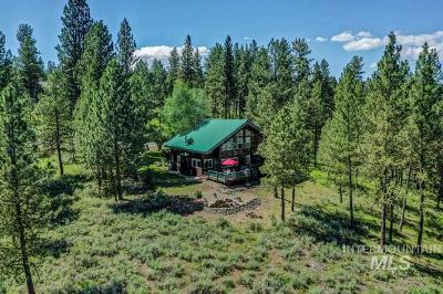 New Meadows Single Family Home For Sale: 2205 Vardon Rd