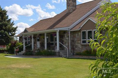 Boise Single Family Home For Sale: 7985 S Cloverdale Rd